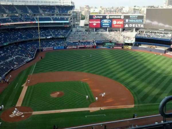 Yankee Stadium, section: 417, row: 4, seat: 3