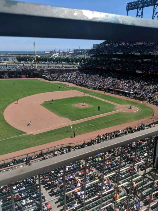 Oracle Park, section: VB325, row: A, seat: 21