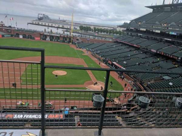 Oracle Park, section: VB321, row: b, seat: 20