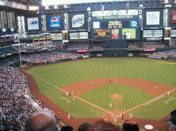 Chase Field, section: 316, row: 15, seat: 14