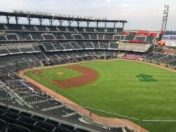 Truist Park, section: 412, row: 5, seat: 23