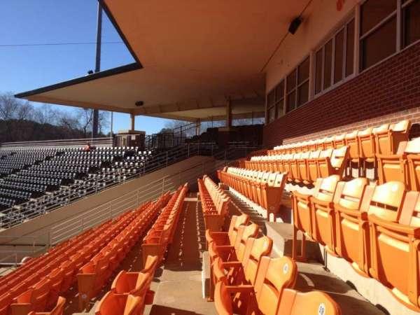 Doug Kingsmore Stadium, section: UF, row: H, seat: 16,17,18,19