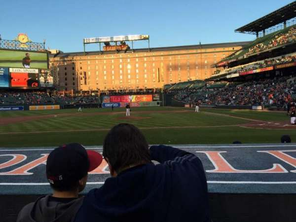 Oriole Park at Camden Yards, section: 50, row: 2, seat: 1/2
