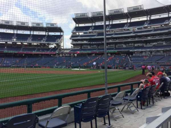 Nationals Park, section: 112, row: D, seat: 21  20