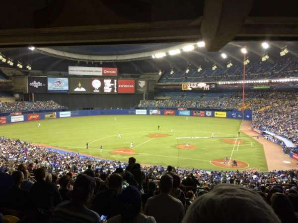 Olympic Stadium, Montreal, section: 210, row: M, seat: 8