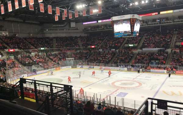 FlyDSA Arena, section: 218, row: F, seat: 13
