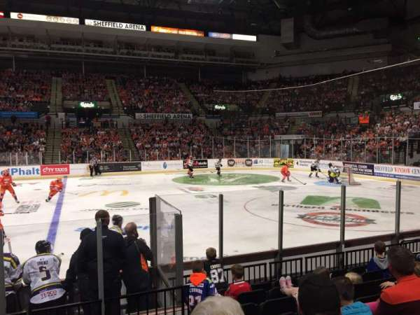 FlyDSA Arena, section: 105, row: H, seat: 1