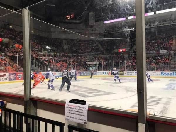 FlyDSA Arena, section: 116, row: B, seat: 1
