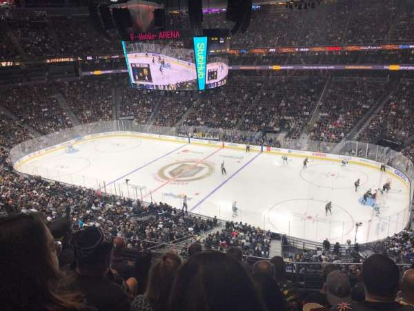 T-Mobile Arena, section: 226, row: E