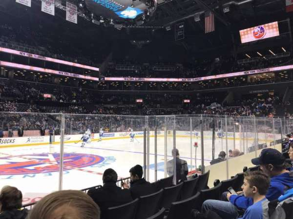 Barclays Center, section: 25, row: 5, seat: 17