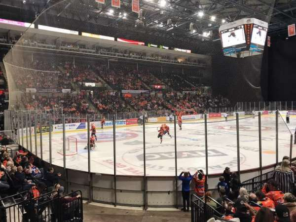 Sheffield Arena, section: 114, row: K, seat: 2