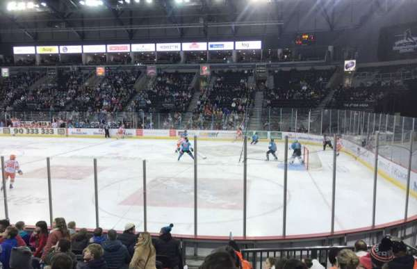 SSE Arena Belfast, section: East L 8, row: K, seat: 153
