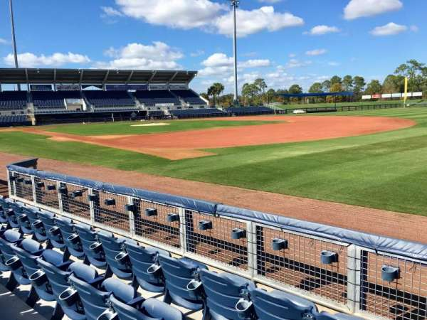 Charlotte Sports Park, section: 101, row: 3, seat: 4