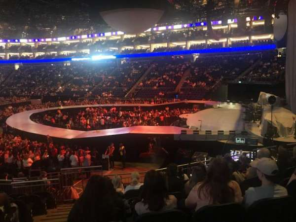 The O2 Arena, section: 113, row: S, seat: 407