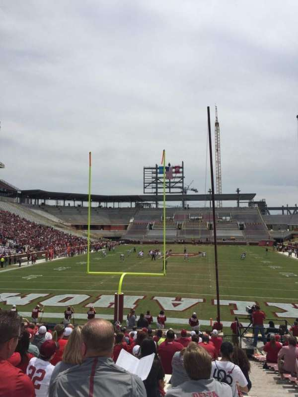 Gaylord Memorial Stadium, section: 17, row: 28, seat: 2