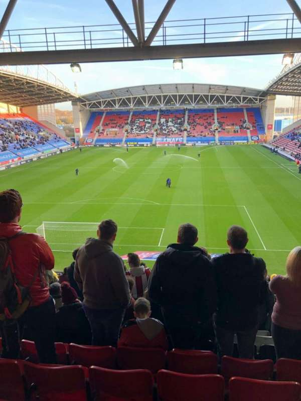 DW Stadium, section: N3, row: HH, seat: 64