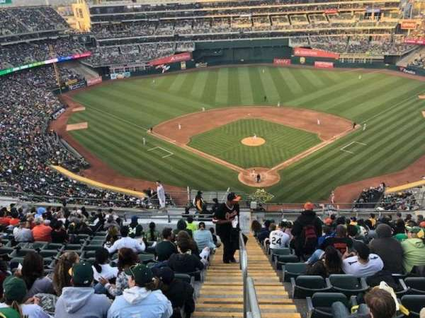 Oakland Alameda Coliseum, section: 317, row: 17, seat: 16