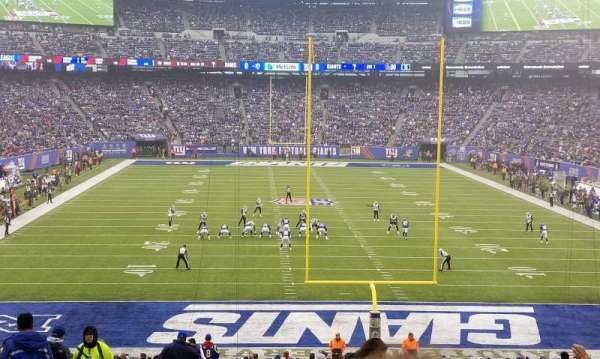 MetLife Stadium, section: 126, row: 37, seat: 25