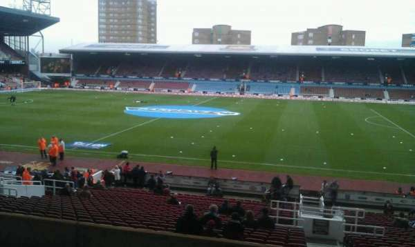 Boleyn Ground, section: Main Stand Box
