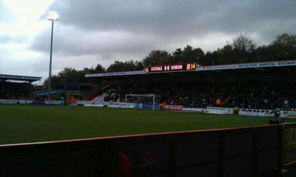 Broadhall Way, section: Main, row: B, seat: 140