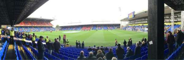 Selhurst Park, section: T, row: 13, seat: 63