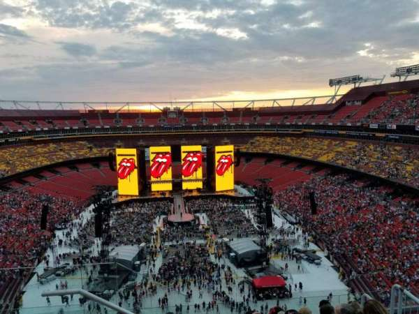 FedEx Field, section: 441, row: 7, seat: 19
