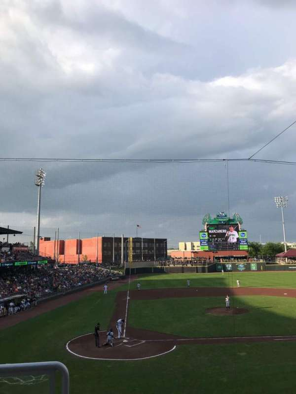 Fifth Third Field (Dayton), section: 204, row: 2, seat: 19