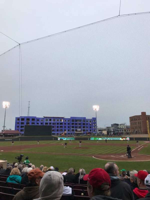 Fifth Third Field (Dayton), section: 111, row: 12, seat: 3
