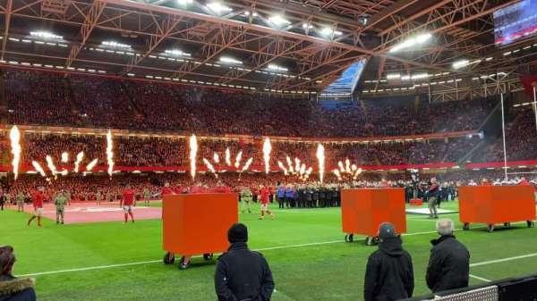 Principality Stadium, section: L11, row: 2, seat: 21