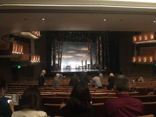 Ahmanson Theatre, section: Orch, row: X, seat: 47