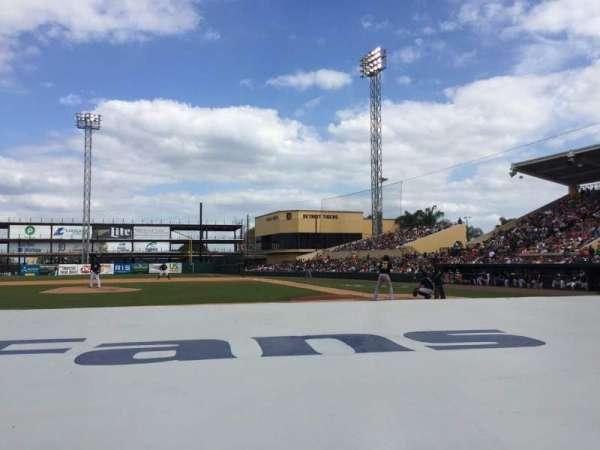 Joker Marchant Stadium, section: 109, row: FF, seat: 10