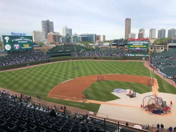 Wrigley Field, section: 313L, row: 10, seat: 2
