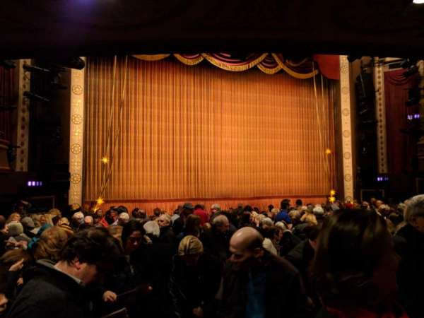 Imperial Theatre, section: ORCH, row: N, seat: 3