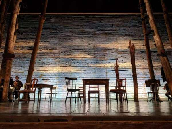 Gerald Schoenfeld Theatre, section: Orchestra C, row: AA, seat: 108