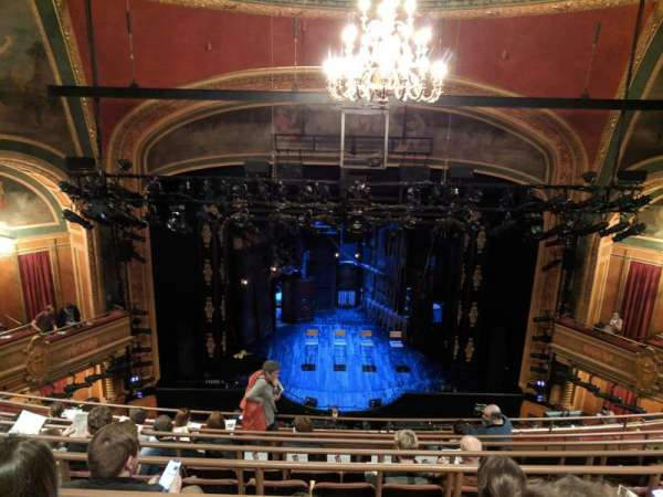 American Airlines Theatre, section: Mezzanine, row: G, seat: 118