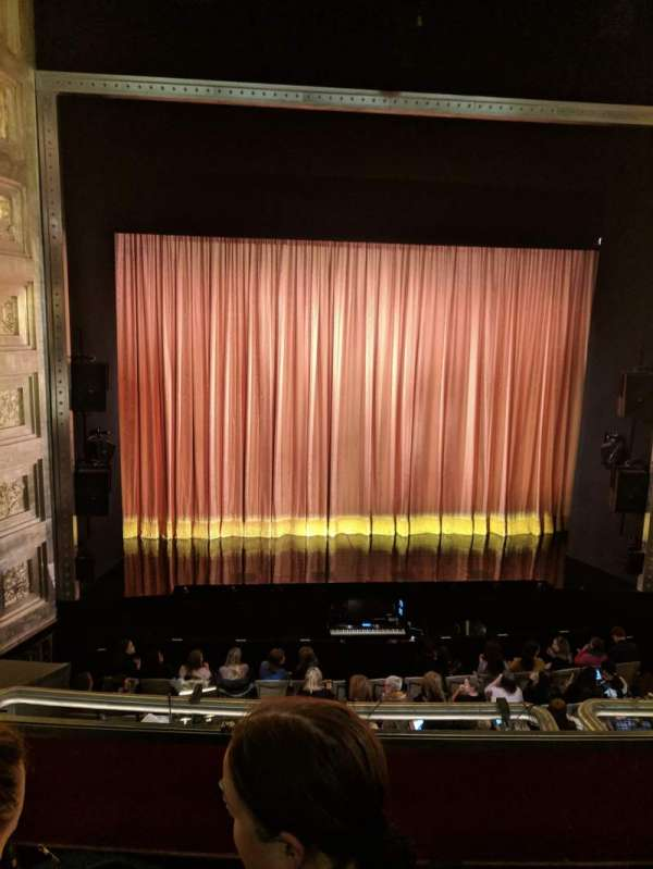 The Savoy Theatre, section: Dress Circle, row: B, seat: 19