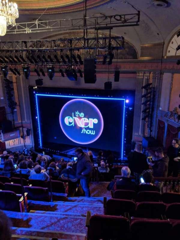 Neil Simon Theatre, section: Mezzanine, row: O, seat: 4