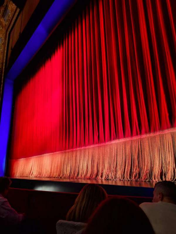 Longacre Theatre, section: ORCHO, row: C, seat: 5