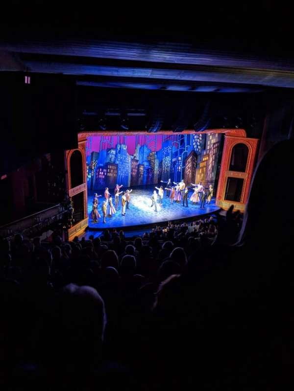 Marquis Theatre, section: Mezzanine, row: L, seat: 19