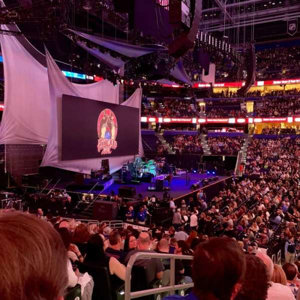 Amalie Arena, section: 117, row: U, seat: 16
