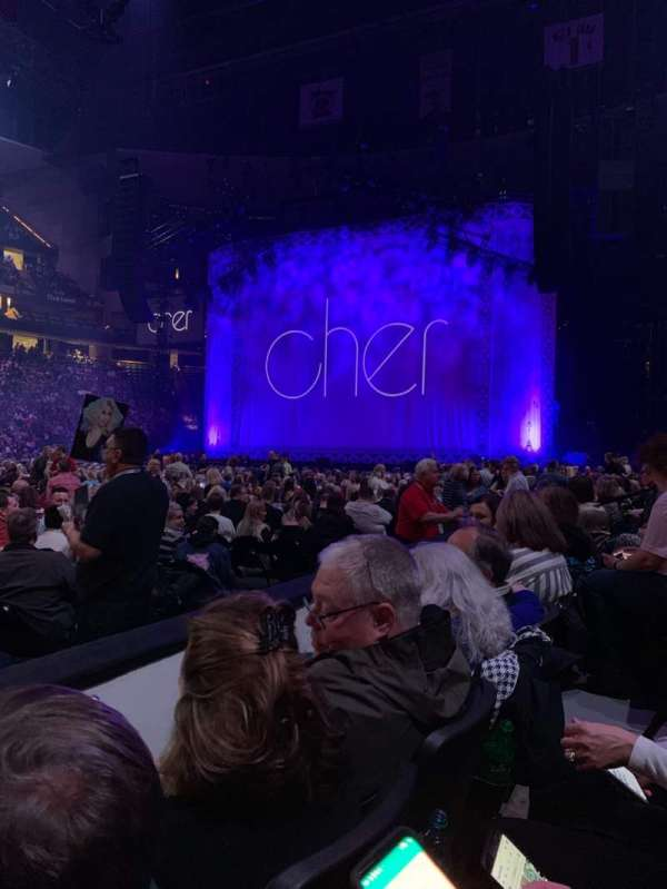 Xcel Energy Center, section: 104, row: 2, seat: 13