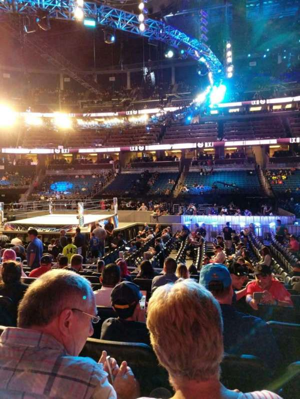 Amway Center, section: 105, row: 9, seat: 9