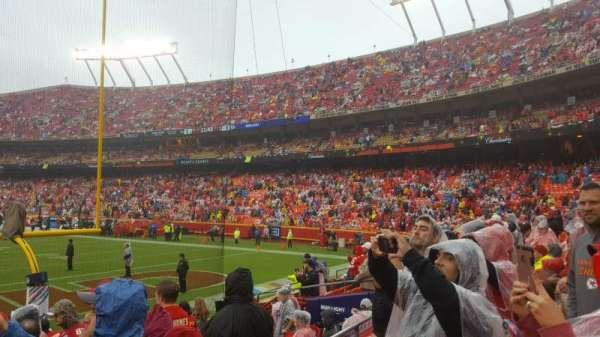 Arrowhead Stadium, section: 110, row: 9, seat: 27