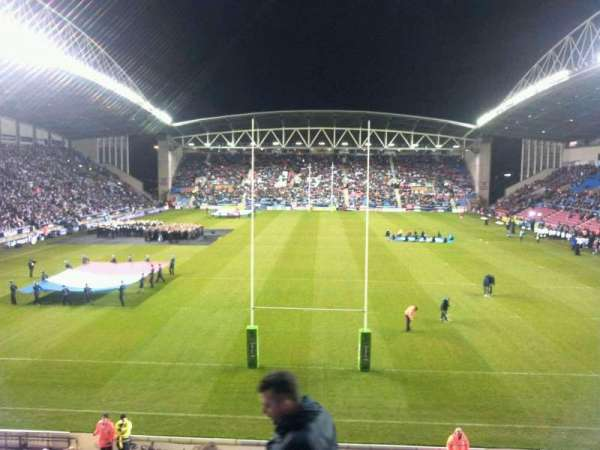 DW Stadium, section: north, row: x, seat: 90