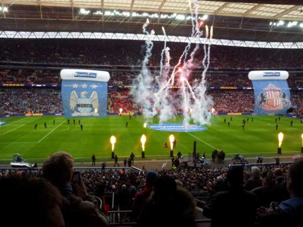 Wembley Stadium, section: 124, row: 42, seat: 45