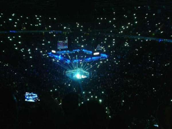 Manchester Arena, section: 206, row: k