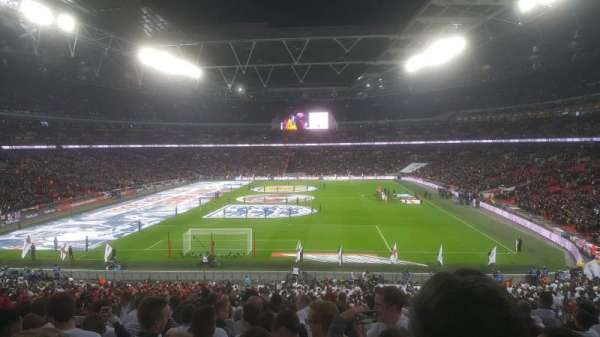 Wembley Stadium, section: 111, row: 44 ( back )