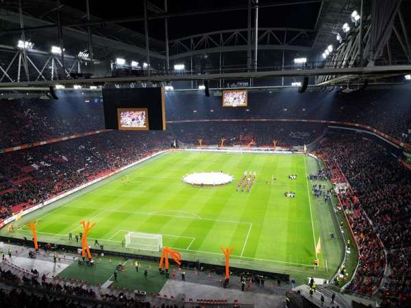 Johan Cruyff Arena, section: 412, row: 26