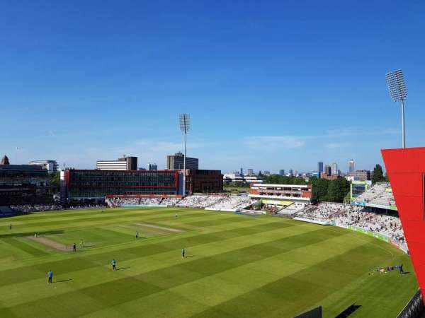 Old Trafford Cricket Ground, section: Upper Tier, row: Back Row