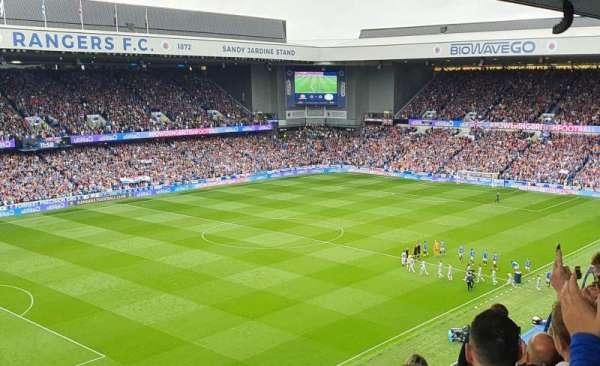 Ibrox Stadium, section: CD7, row: F, seat: 296